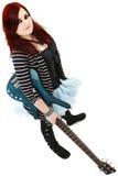шнур игрока имбиря 5 басов предназначенный для подростков Стоковые Изображения RF