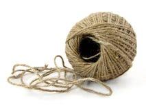 шнур изолированный шариком Стоковые Фотографии RF
