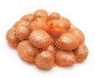 шнур картошек мешка Стоковое фото RF