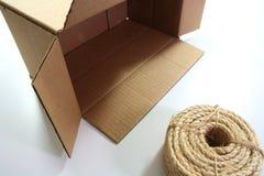 шнур коробки стоковое изображение rf