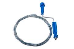Шнур металла для расчистки канализационных трубов стоковое изображение rf