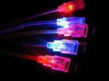 шнур соединения компьютеров Стоковое Изображение RF