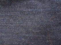 Шов предпосылки Джин голубой черный стоковые фотографии rf