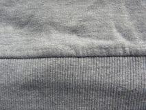 Шов темного - серая хлопко-бумажная ткань цвета стоковые фото