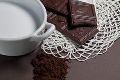 шоколадное молоко Стоковые Фотографии RF