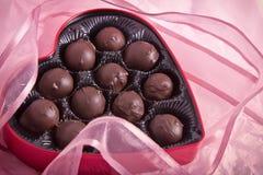 Шоколады Валентайн Стоковая Фотография