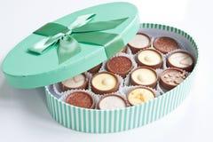 шоколады handmade стоковое фото