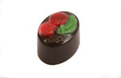 шоколад вишни handmade Стоковые Изображения RF