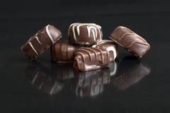 шоколад вкусный Стоковое Изображение