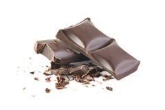 шоколад задавил Стоковое Изображение RF