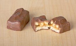 шоколад конфеты штанги Стоковое Изображение RF