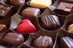 шоколад коробки Стоковое Фото
