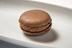 Шоколад макарон стоковая фотография