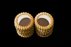 шоколад печенья стоковые изображения