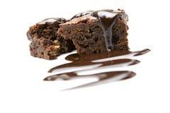 шоколад пирожня стоковые фото