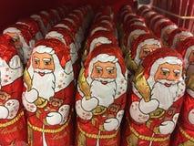 Шоколад Санта Клаус Lindt Стоковая Фотография RF