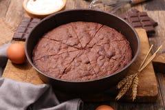 шоколад торта домодельный Стоковое фото RF