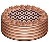 шоколад торта иллюстрация штока