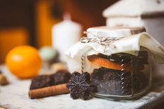Шоколад установленный как снежинки Стоковое Изображение