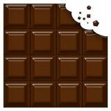 шоколад штанги иллюстрация штока