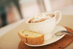 шоколад biscotti горячий Стоковое Изображение RF