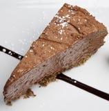 шоколад cheesecake Стоковые Фото