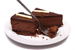 шоколад cheesecake Стоковая Фотография