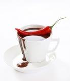 шоколад chili горячий Стоковое Фото