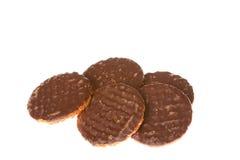 Шоколад Cokkies Стоковая Фотография
