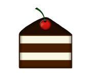 шоколад торта Стоковое Изображение
