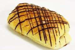 Шоколад данський на белой предпосылке стоковая фотография rf