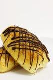 Шоколад данський на белой предпосылке стоковые фотографии rf