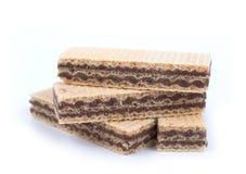Шоколад вафли Стоковое Изображение