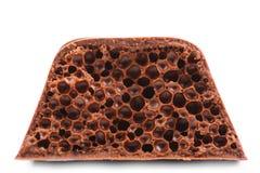 Шоколад воздуха пористый. Стоковое Изображение RF