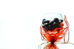 Шоколад в бокале Стоковые Фотографии RF