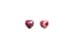 Шоколад в форме сердц на белой предпосылке Стоковое Фото