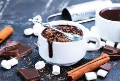 шоколад горячий стоковые изображения rf