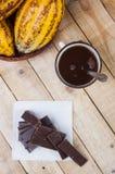 Шоколад готовый Стоковые Фотографии RF