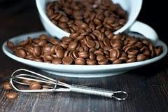 Шоколад зерен с загонщиком стоковые изображения rf