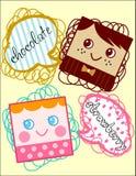 Шоколад и клубника Стоковое Фото