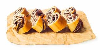 Шоколад крена Стоковая Фотография RF