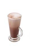 Шоколадное молоко в высокорослом стекле Стоковое Изображение