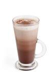 Шоколадное молоко в высокорослом стекле Стоковые Изображения