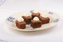 Шоколадные торты Стоковая Фотография