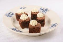 Шоколадные торты Стоковые Изображения RF
