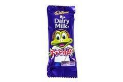 Шоколадный батончик молока молокозавода Cadbury Freddo Стоковая Фотография