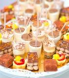 Шоколадный батончик на свадебной церемонии стоковая фотография rf