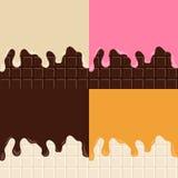 Шоколадный батончик иллюстрация штока