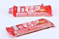 Шоколадный батончик kat набора Nestle Стоковое фото RF