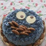 Шоколадный торт животного печенья стоковые фото